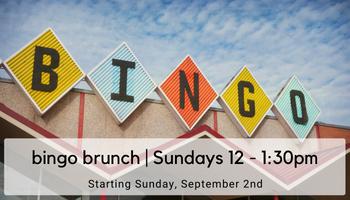 bingo brunch sundays at noon at dairy block denver, co