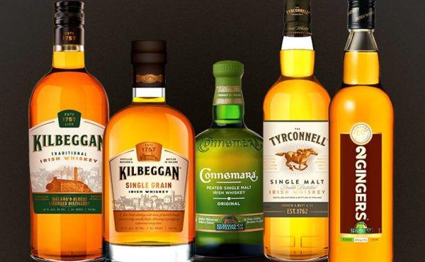 irish whiskey event at seven grand whiskey bar at dairy block denver, co